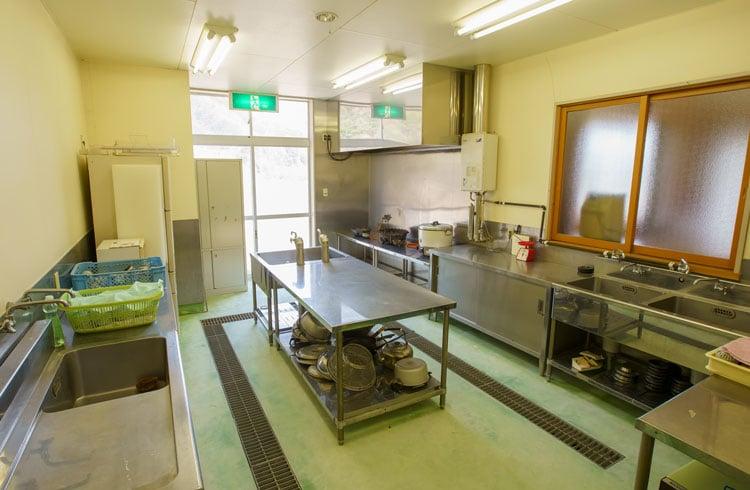 厨房(調理実習室)